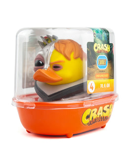 Crash Bandicoot Dr. N. Gin TUBBZ Collectible Duck