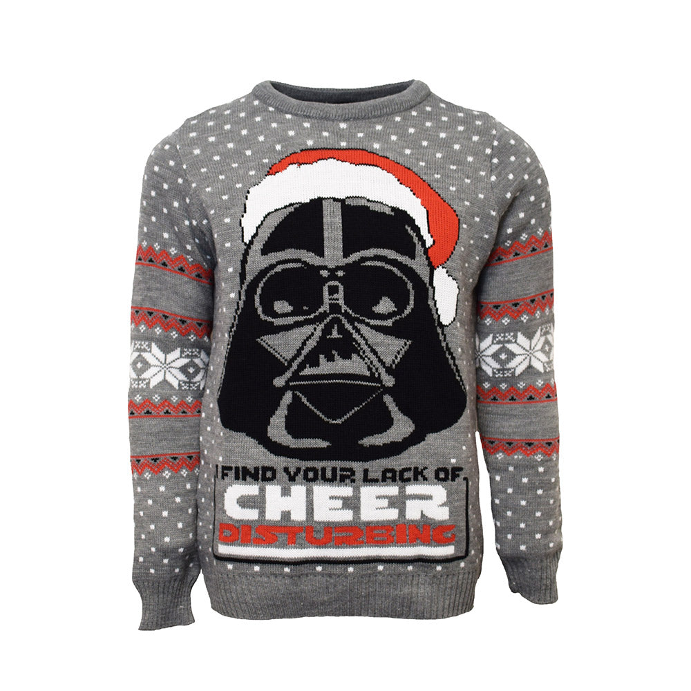 Official Darth Vader Star Wars Christmas Jumper / Ugly Sweater