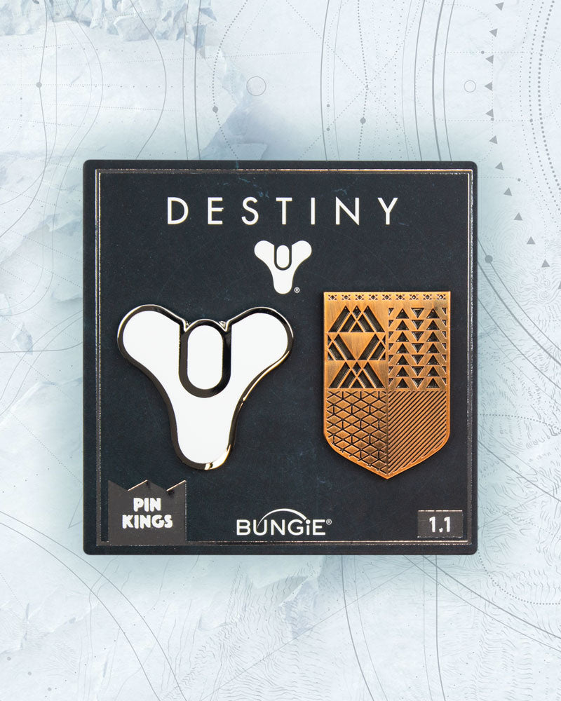 Pin Kings Destiny Enamel Pin Badge Set 1.1 - Guardian