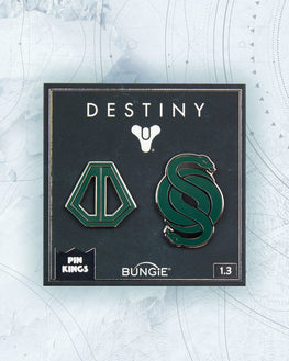 Pin Kings Destiny Enamel Pin Badge Set 1.3 - Gambit