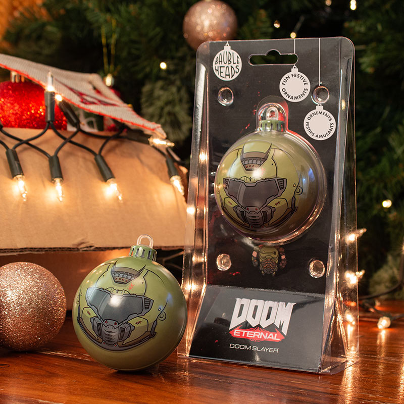 Bauble Heads DOOM 'DOOM Slayer' Christmas Decoration / Ornament