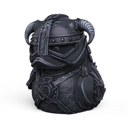 Skyrim Dovahkiin Ebony Edition TUBBZ Cosplaying Duck Collectible