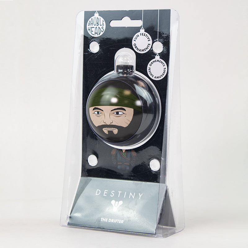 Bauble Heads Destiny 'The Drifter' Christmas Decoration / Ornament