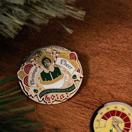 Pin Kings Elf Christmas Enamel Pin Badge Set 1.2