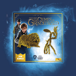 Pin Kings Harry Potter Fantastic Beasts Enamel Pin Badge Set 1.2 – Baby Niffler & Bowtruckle