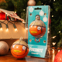 Bauble Heads Fortnite 'Fishstick' Christmas Decoration / Ornament