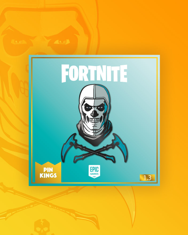 Pin Kings Fortnite Enamel Pin Badge Set 1.3 - Skull Trooper