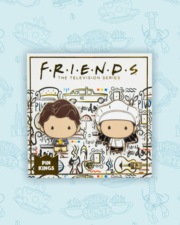 Pin Kings Friends Enamel Pin Badge Set 1.2 - Monica & Chandler