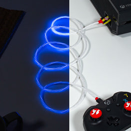 Official Ghostbusters LED Micro USB Cable & Thumb Grips (PS4 and Xbox One)