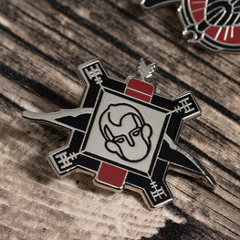 Pin Kings God of War Enamel Pin Badge Set