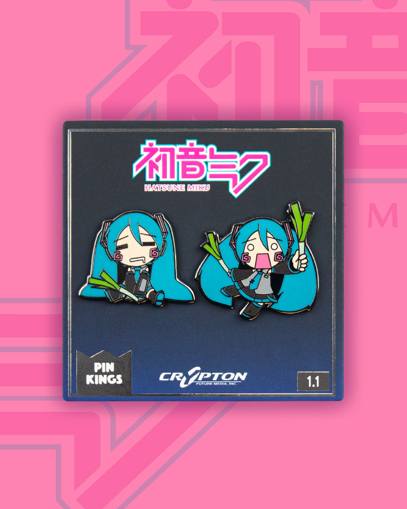 Pin Kings Hatsune Miku Enamel Pin Badge Set 1.1