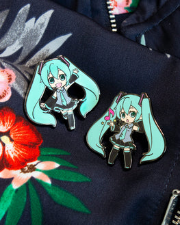 Pin Kings Hatsune Miku Enamel Pin Badge Set 1.2