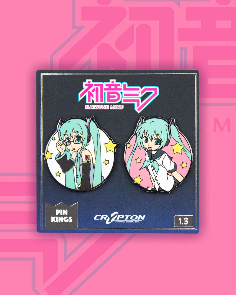 Pin Kings Hatsune Miku Enamel Pin Badge Set 1.3