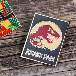 Pin Kings Jurassic Park Enamel Badge Set 1.1