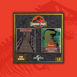 Pin Kings Jurassic Park Enamel Badge Set 1.3