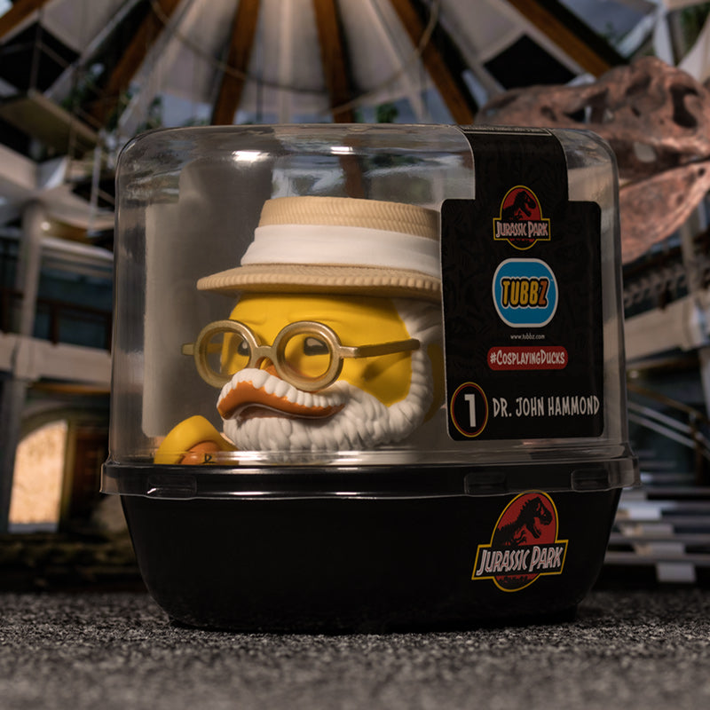 Jurassic Park Dr John Hammond TUBBZ Cosplaying Duck Collectible