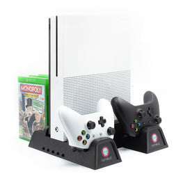 Numskull Xbox One Multi Function 5 In 1 Docking Station / Console Stand