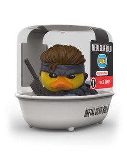 Metal Gear Solid Solid Snake TUBBZ Collectible Duck