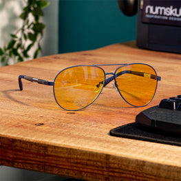 Official Numskull Esports Aviator Blue Light Blocking Gaming Glasses