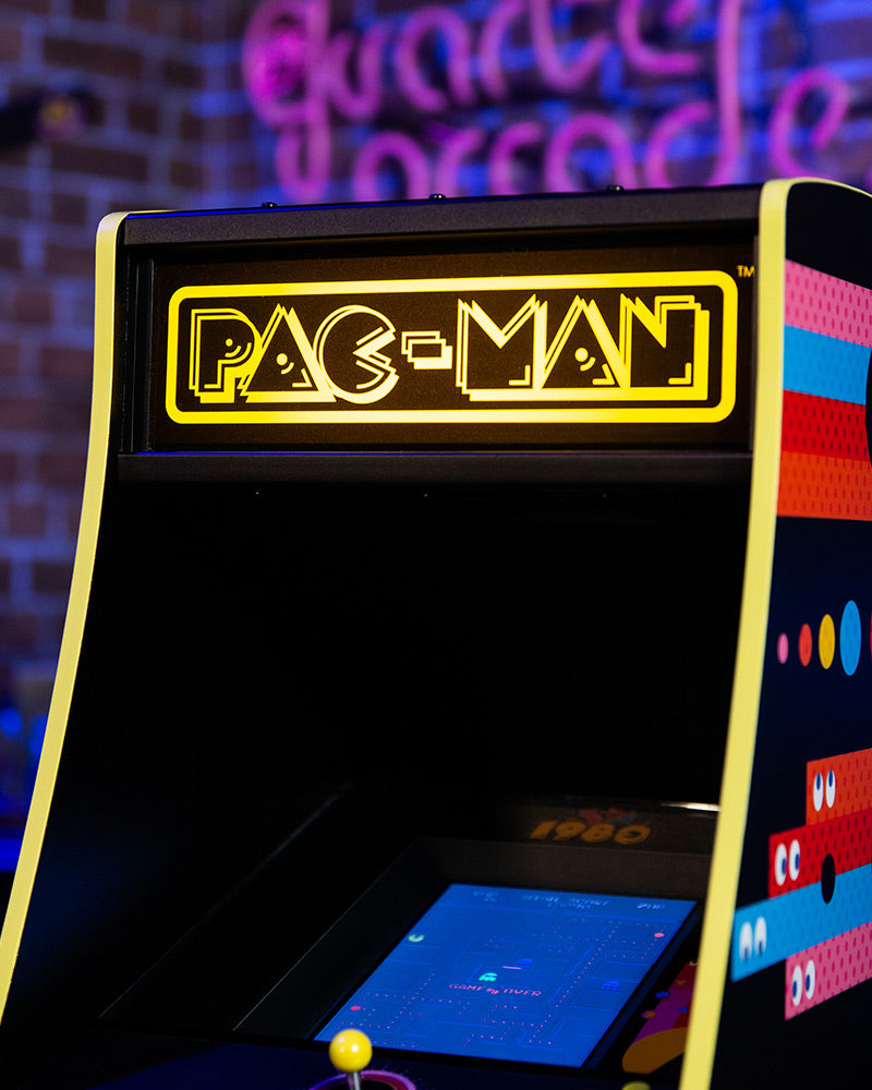 Official Pac-Man 40th Anniversary Quarter Size Arcade