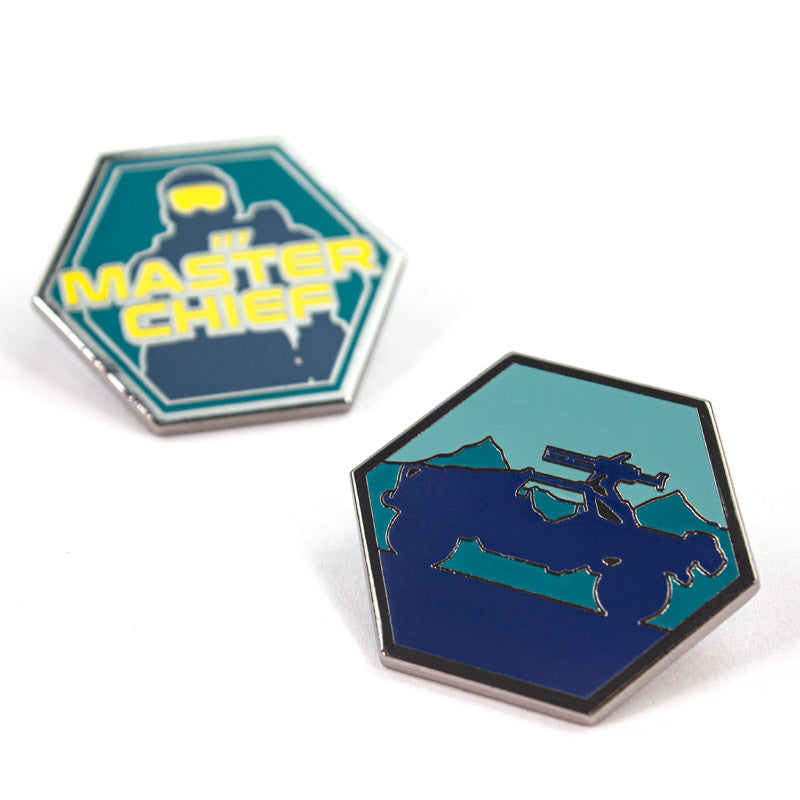 Pin Kings Halo Enamel Pin Badge Set 1.2