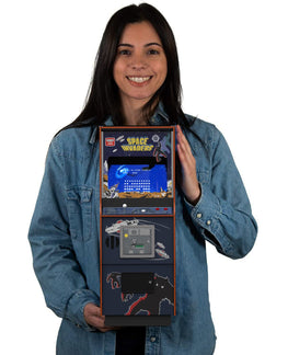 Official Space Invaders Quarter Size Arcade Cabinet