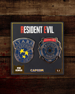 Pin Kings Resident Evil Enamel Pin Badge Set 1.1