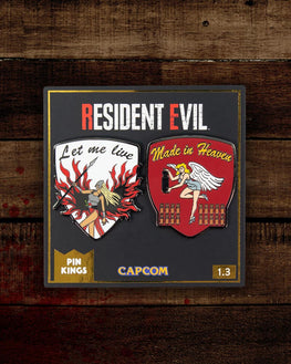 Pin Kings Resident Evil Enamel Pin Badge Set 1.3