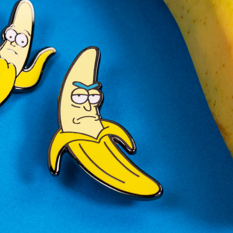Pin Kings Rick and Morty Enamel Pin Badge Set 1.3 – Banana Rick & Morty