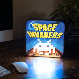 Official Space Invaders 3D Desk Lamp / Wall Light