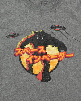 Official Space Invaders Japanese Monster T-Shirt