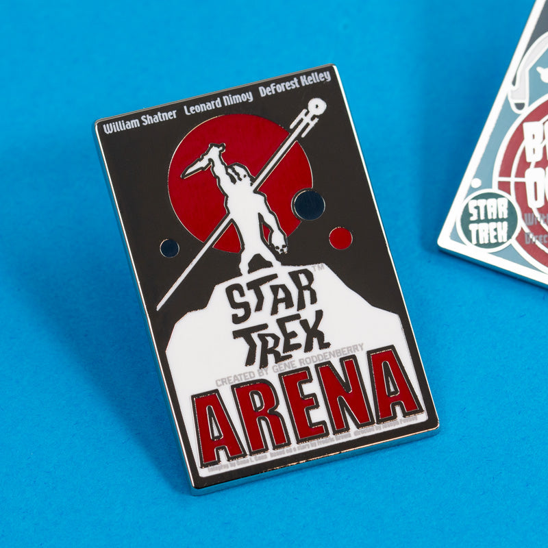 Pin Kings Star Trek Enamel Pin Badge Set 1.3 – Balance of Terror & Arena