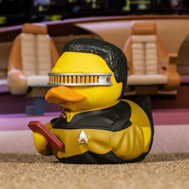 Star Trek Geordi La Forge TUBBZ Cosplaying Duck Collectible