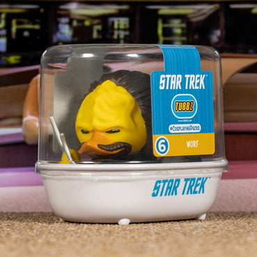 Star Trek Worf TUBBZ Collectible Duck