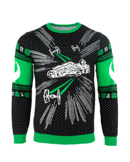 Official Star Wars Millenium Falcon Christmas Jumper / Ugly Sweater
