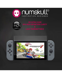 Numskull Nintendo Switch Tempered Glass Anti Scratch Screen Protectors (Twin Pack)