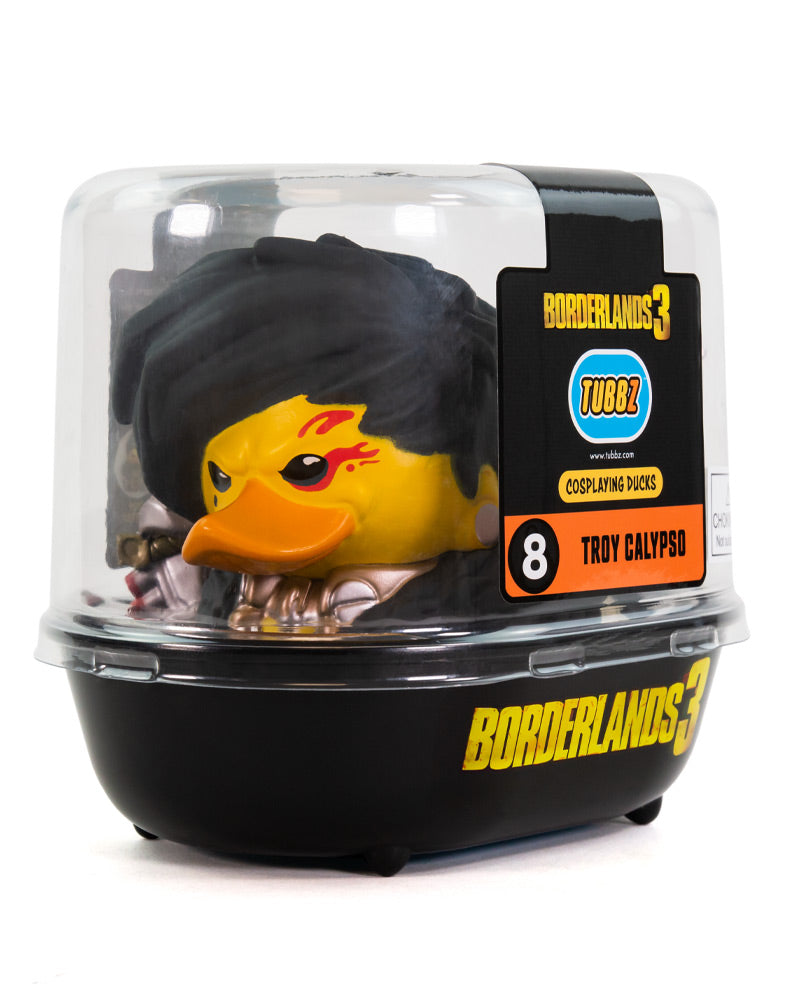 Borderlands 3 Troy Calypso TUBBZ Collectible Duck