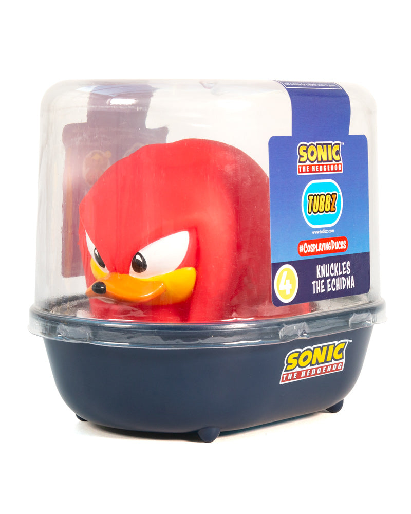 Sonic the Hedgehog Knuckles TUBBZ Collectible Duck