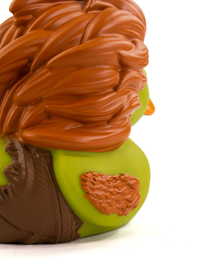 Street Fighter Blanka TUBBZ Collectible Duck