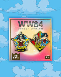 Pin Kings Wonder Woman '84  Enamel Pin Badge Set 1.3 - Save The Day