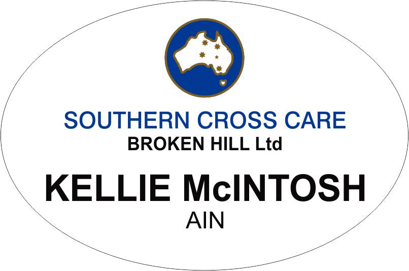 Southern Cross Broken Hill Standard Badge