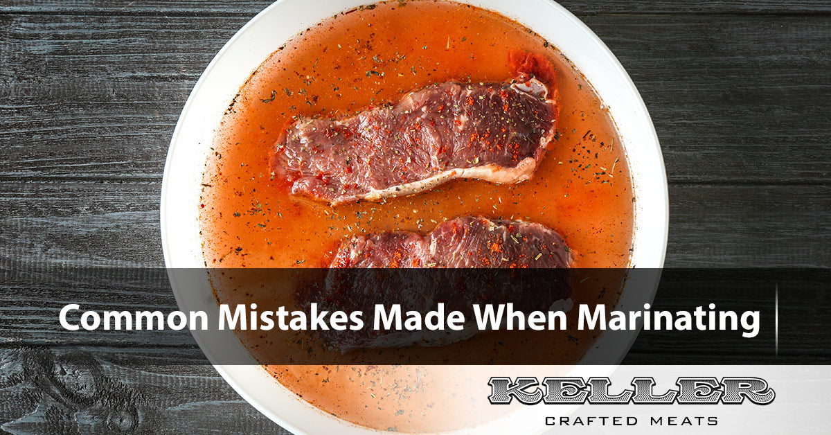 Common Mistakes Made When Marinating