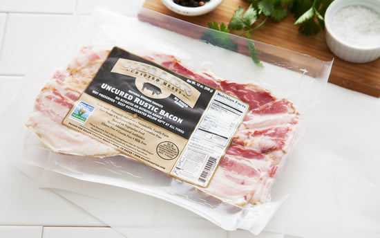 Rustic (sugar free) Bacon - 8 oz.