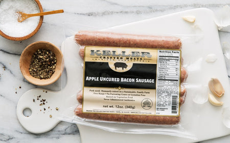 Apple Bacon Breakfast Sausage
