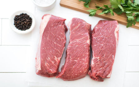 Grass-fed Sirloin Tip Steaks