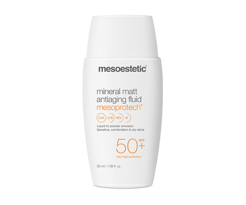 Mesoprotech Mineral Matt Antiaging Fluid 50+