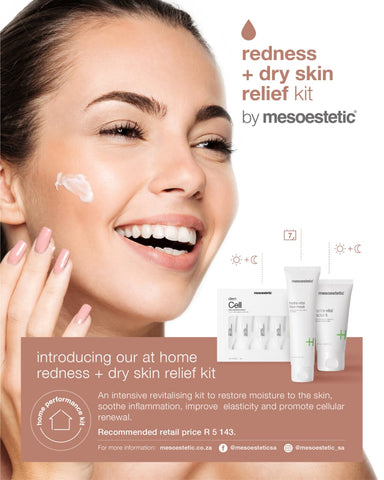 Redness + Dry skin relief kit