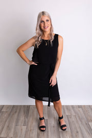 SALE- Elyse Dress- Black WAS $129