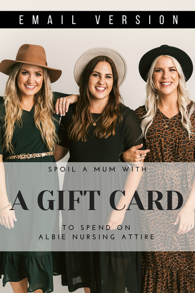 Gift Card- Hard Copy Posted Version