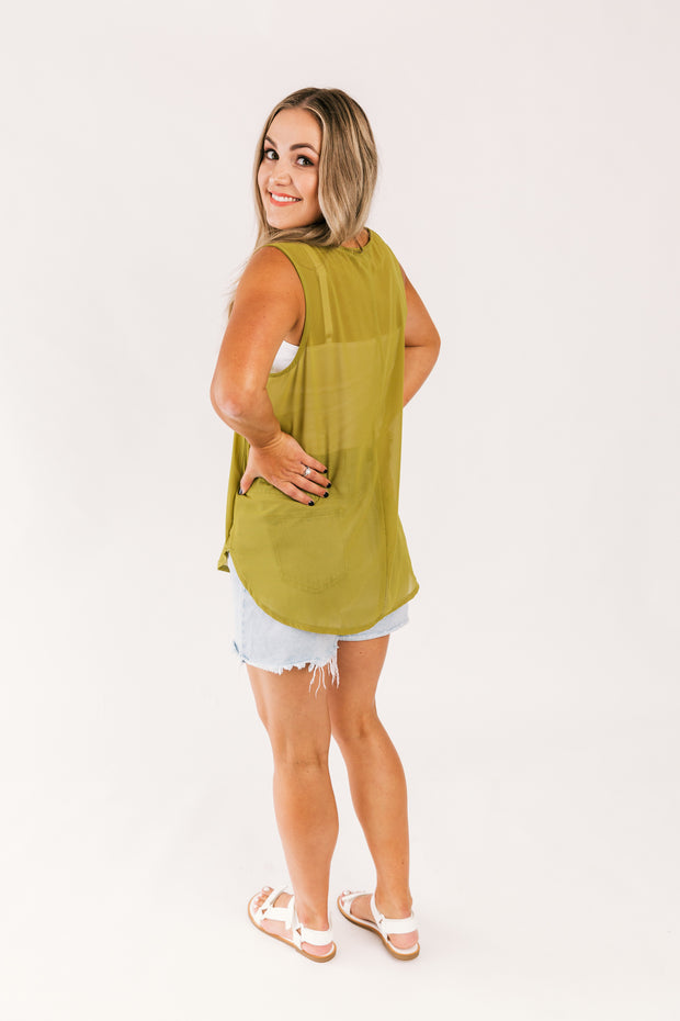 SALE- Annie Top- Wasabi WAS $89